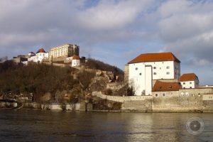 Passau - ganz in der Nähe vom Alpakahof Ausham